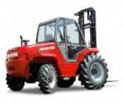 Chariot industriel tout terrain diesel 4 roues motrices 2T5