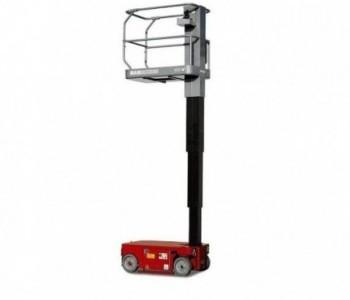 Nacelle verticale électrique 6 M dépliée