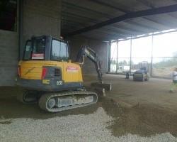 chantier centre commercial aire